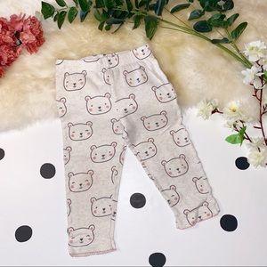 🧸5 FOR $20🧸CARTER'S Teddy Bear Leggings - 18M